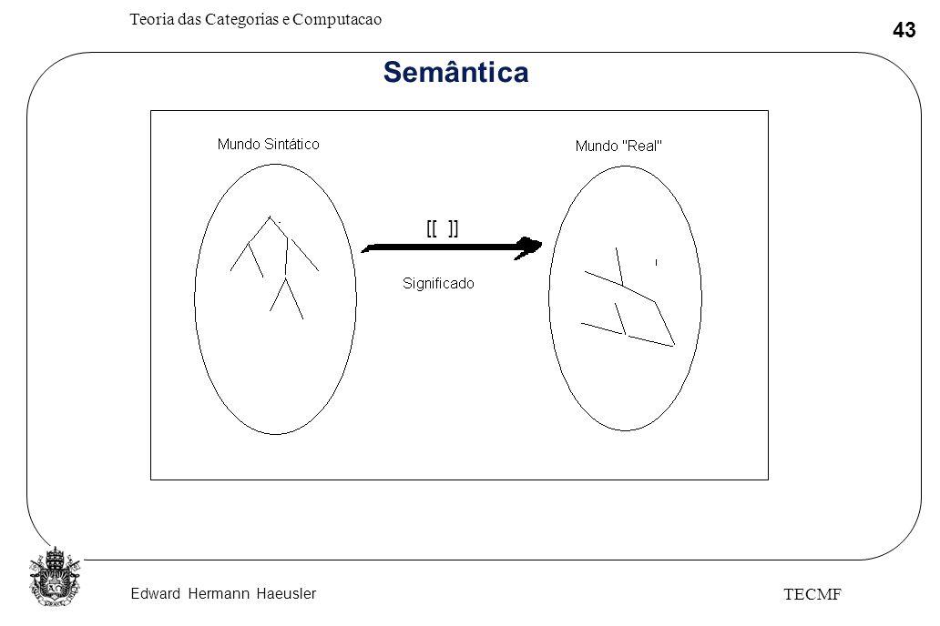 Semântica [[ ]] TECMF